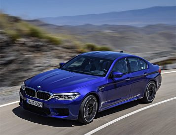 BMW's 2018 M5 is AWD Until You Say Otherwise