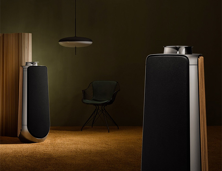 Bang & Olufsen's BeoLab 50 Speaker is their Most Advanced & Powerful Yet at werd.com