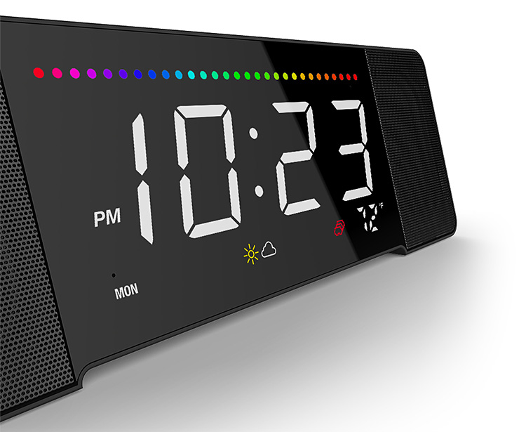 The Doppler Sandman Smart Alarm Clock has Alexa Inside at werd.com