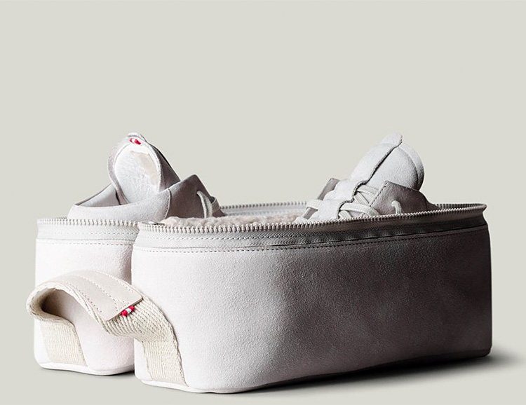 The HardGraft Sneaker Pack Keeps Your Kicks Immaculate at werd.com