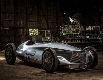 Infiniti's Prototype 9 Electric Merges the 1940s with the Future