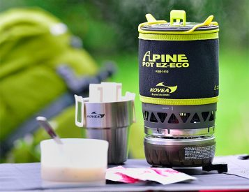With the Kovea Refillable EZ Eco Stove, You Can Leave the Fuel Canister Behind