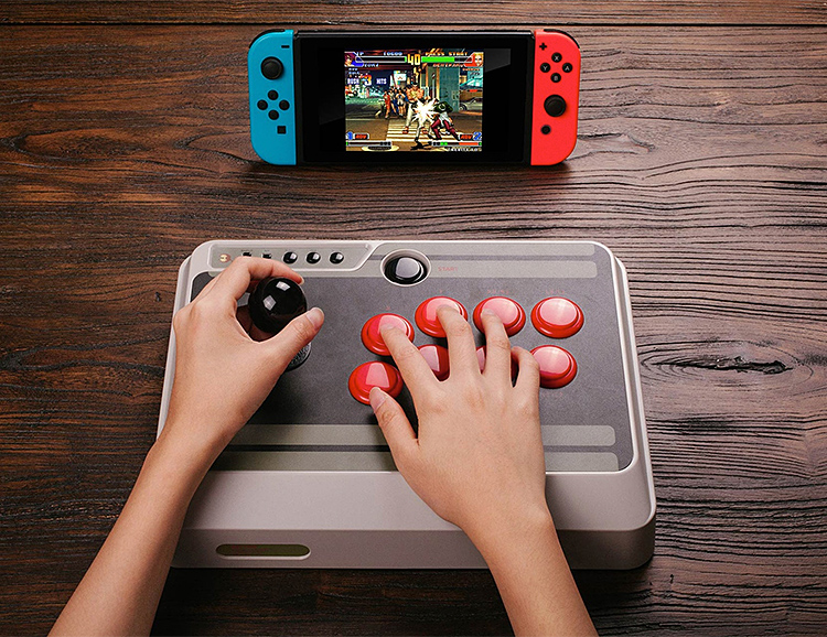 The NES 30 Arcade Stick Controller: a Retro Add-on for Nintendo Switch at werd.com