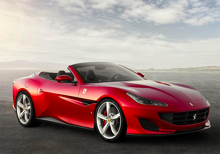 Ferrari Introduces a New GT: The Portofino at werd.com