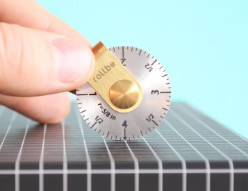 Rollbe is the World's Most Compact Ruler
