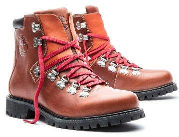 Timberland Revives a Fall Classic: The 1978 Waterproof Hiking Boot