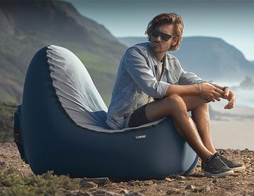 Sit On a Cushion of Air in the TRONO Chair