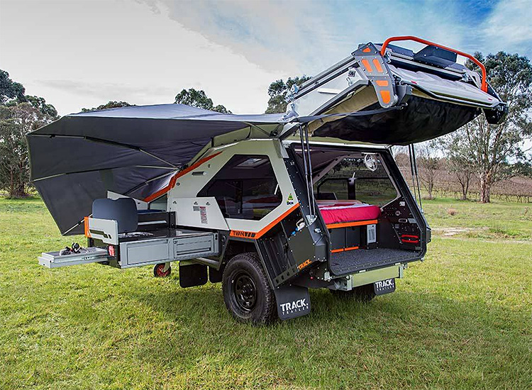 The Insane MK5 Camper Takes Camping Comfort Off-Road at werd.com