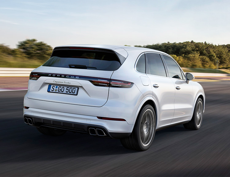 The Porsche Cayenne Turbo is now More Powerful Than Ever at werd.com