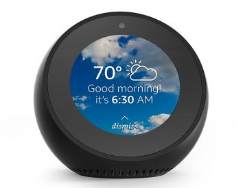 Amazon Echo Spot Brings Alexa, Audio, & Video to a Small, Desktop Device