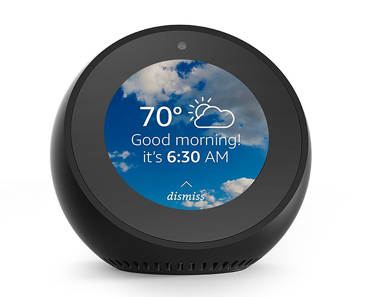 Amazon Echo Spot Brings Alexa, Audio, & Video to a Small, Desktop Device at werd.com