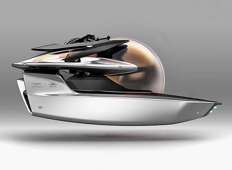 Aston Martin Announces a Limited Edition Submarine at werd.com