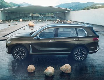 BMW Unveils Concept X7 iPerformance Luxury SUV