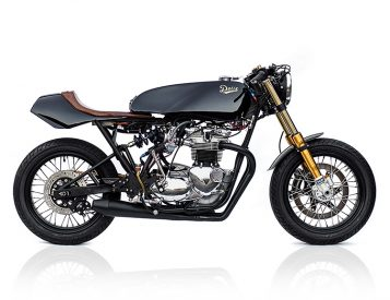 Deus Builds a Sleek, Vintage GP-Inspired Triumph