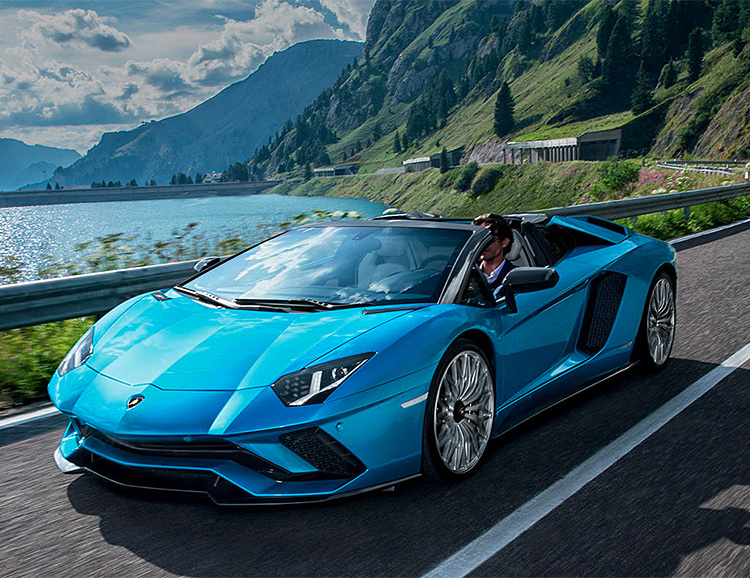 Lamborghini's Aventador S Takes Off Its Top at werd.com