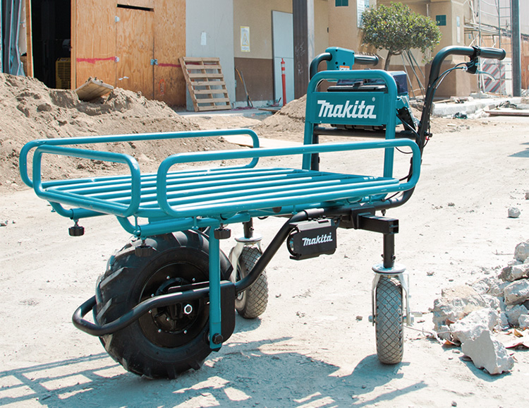Makita's 18V Power-Assist Dolly Works Smarter & Harder at werd.com