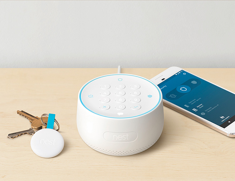 Nest Introduces a Secure Alarm System at werd.com