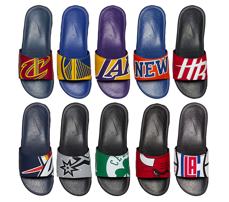 Slide Into The Nike x NBA Team Uniform Collection at werd.com