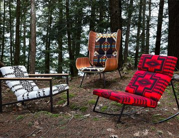 Pendleton Teams Up With Gus* Modern on a Cool Collection of Chairs