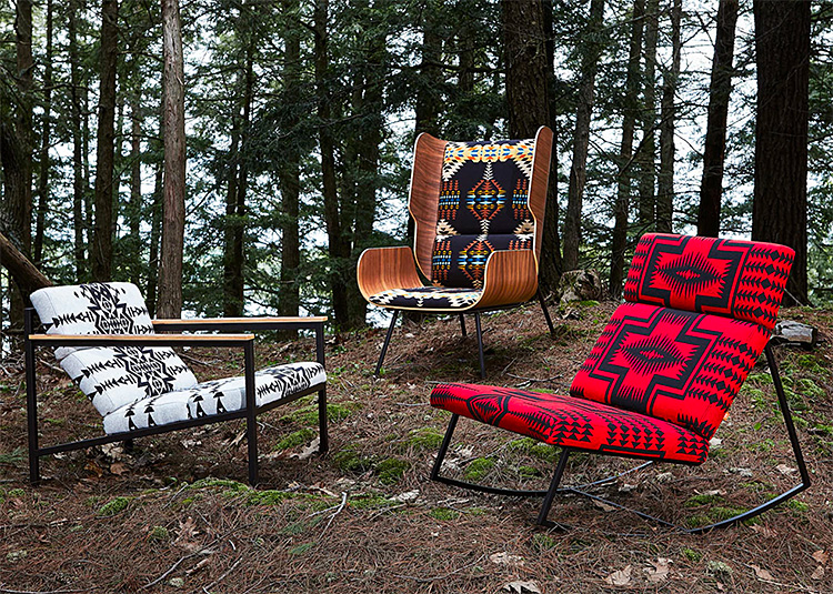 Pendleton Teams Up With Gus* Modern on a Cool Collection of Chairs at werd.com
