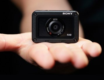 This Little Black Box is Sony's RXO Action Camera