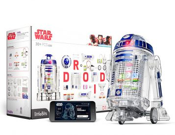 Build Your Own R2D2 with the Star Wars Droid Inventor Kit