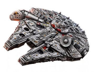 This Millennium Falcon is the Biggest Lego Set Ever