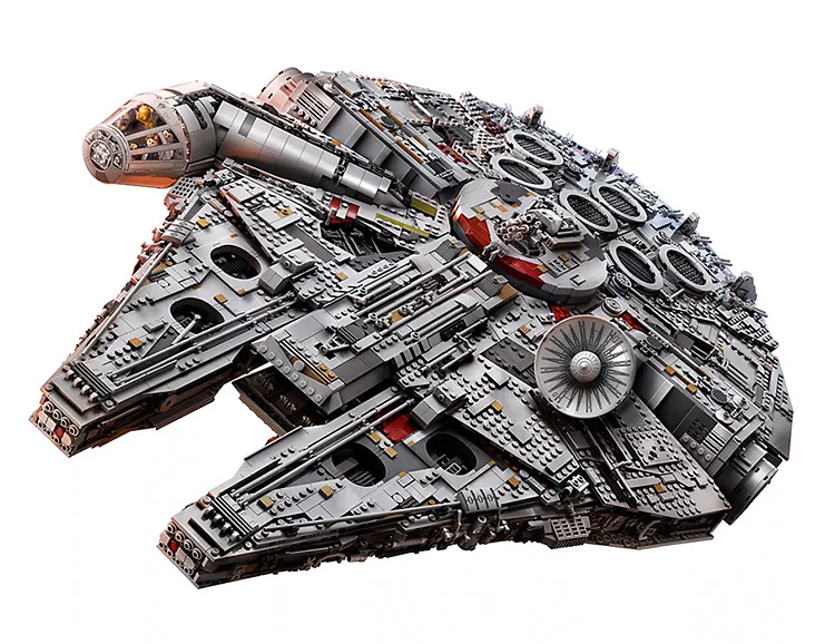 This Millennium Falcon is the Biggest Lego Set Ever at werd.com
