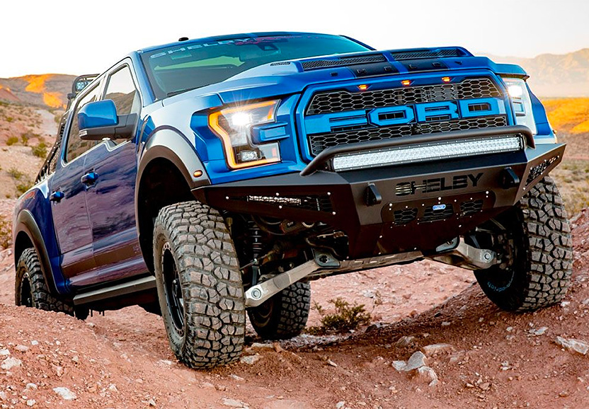 Special Edition Ford Raptor Gets The Shelby Treatment at werd.com