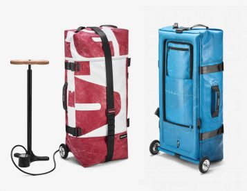 Swiss Bag Maker Freitag Introduces an Inflatable Travel Bag