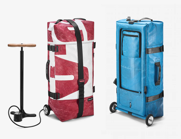 Swiss Bag Maker Freitag Introduces an Inflatable Travel Bag at werd.com