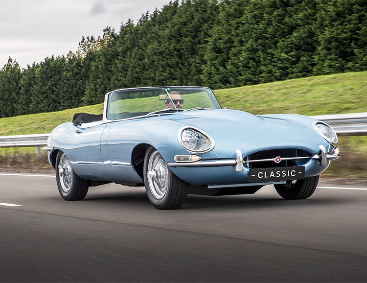 This Classic Jaguar E-Type is Not Like the Others at werd.com