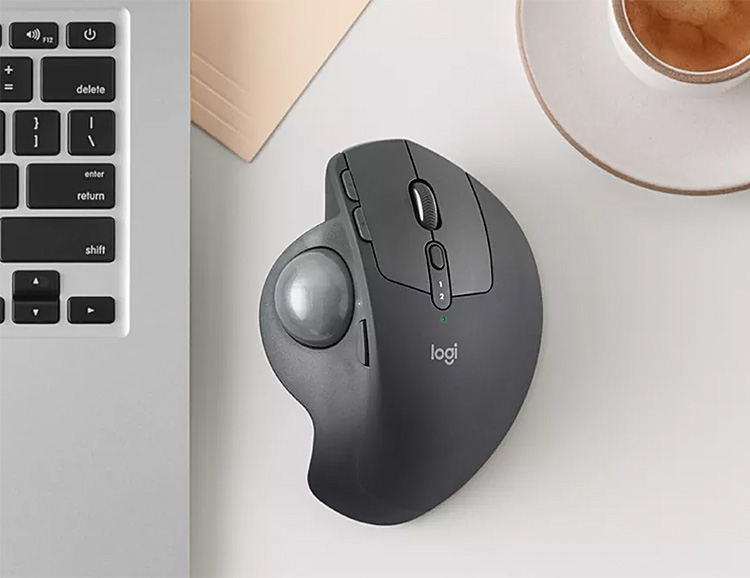 Logitech's MX ERGO Mouse Brings Back The Trackball at werd.com