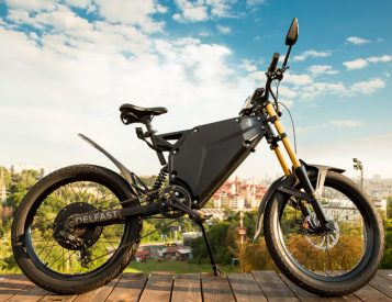 The Delfast E-bike is a Roadtrip Machine