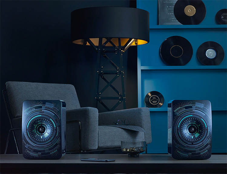 KEF Introduces LS50 Nocturne Speakers Designed by Marcel Wanders at werd.com