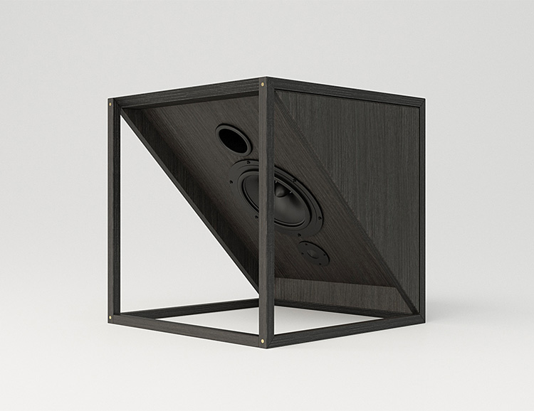 The M1 from JLA is Designer Hi-Fi Furniture at werd.com