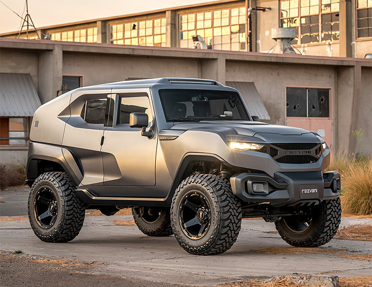 The Revzani Tank SUV is Apocalypse Ready at werd.com