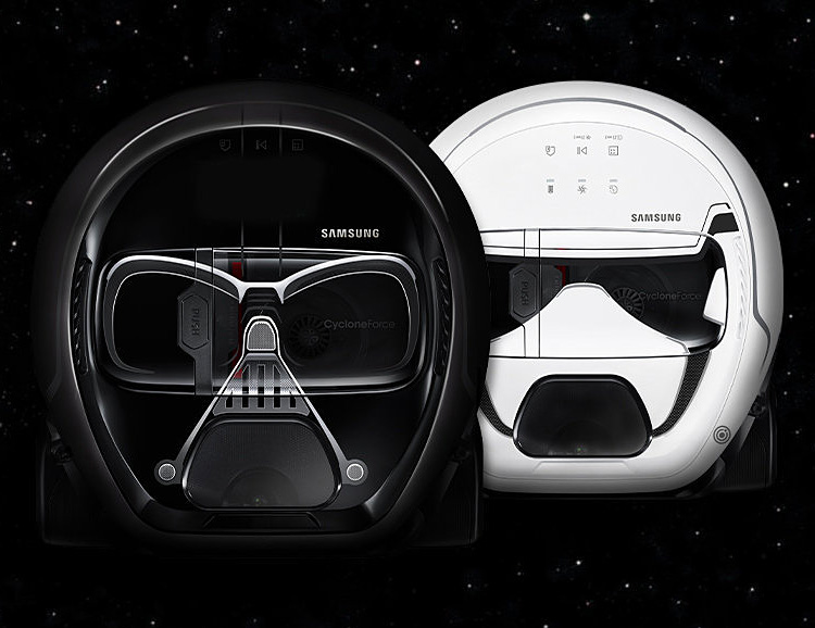 Samsung Introduces Star Wars POWERBot Smart Vacuums at werd.com