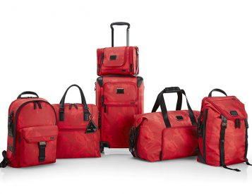 The Tumi x Russell Westbrook Luggage Collection