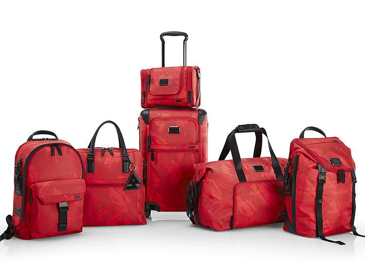 The Tumi x Russell Westbrook Luggage Collection at werd.com