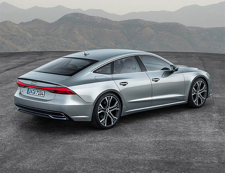 Audi Electrifies the 2019 A7 Sportback at werd.com