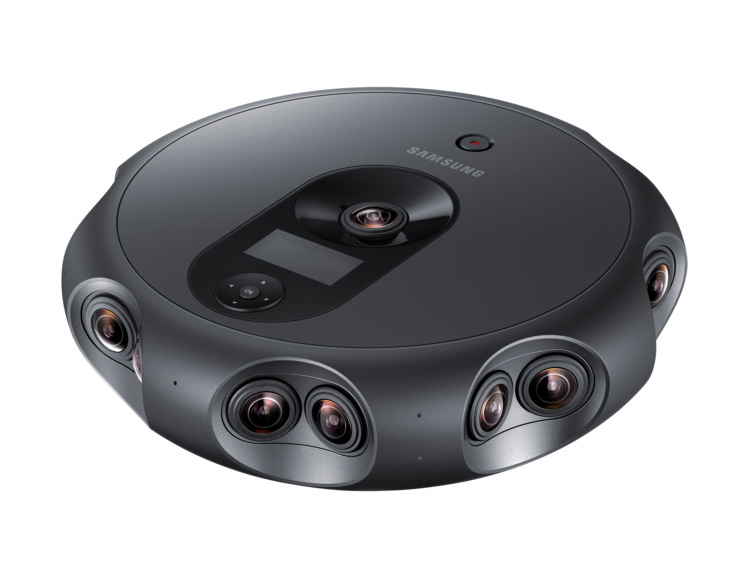 Samsung's 360 Round Camera Captures 360-Degree Images with 17 Lenses at werd.com