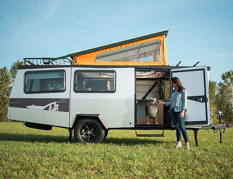 The Mantis Camper Has Everything You Need & Nothing You Don't at werd.com