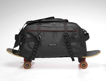 This Duffle from Truce Designs is Ready To Roll