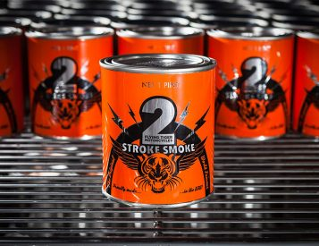 'Tis the Season for a 2-Stroke Smoke Candle