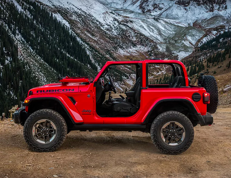 2018 Jeep Wrangler Gets an Aluminum Body but Retains its Iconic Looks at werd.com