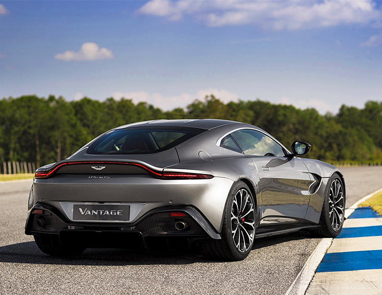 Aston Martin Unveils Re-Designed 2019 Vantage at werd.com