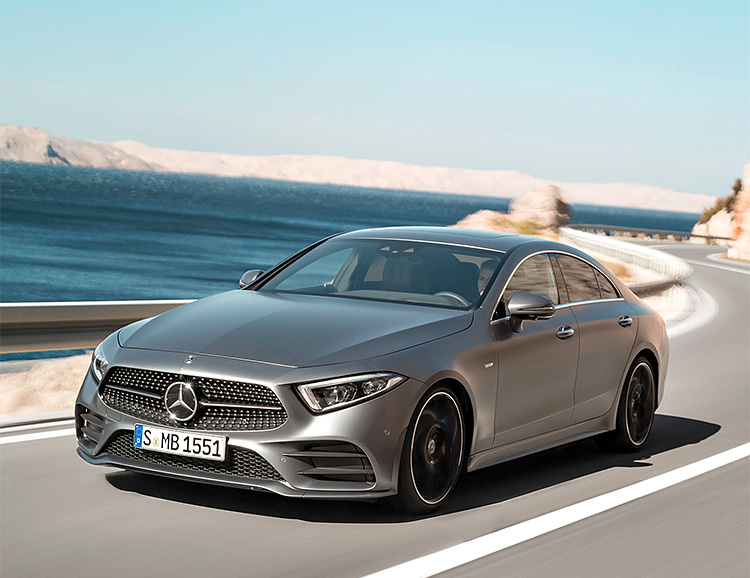 Mercedes-Benz Introduces Re-Designed 2019 CLS at werd.com