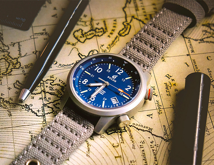 BOLDR's Expedition Field Watch is Built for Action & Adventure