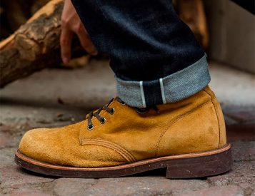The Chippewa Service Boot is a Genuine American Classic